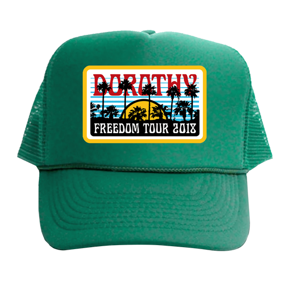 Green Cap- 2018 Freedom Tour