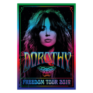 Digital Poster-2019 Freedom Tour