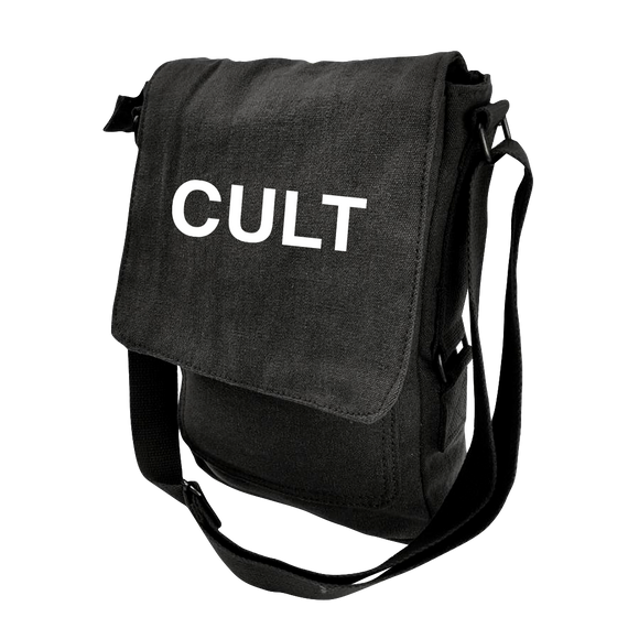 Black Canvas Military Tech Bag