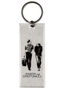 "Keychain-Old Friends-Aluminum-3 3/4"" x 1 1/2"""
