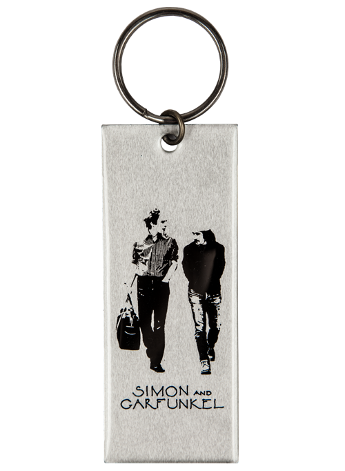 Keychain-Old Friends-Aluminum-3 3/4