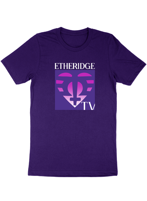 Purple Etheridge TV Tee