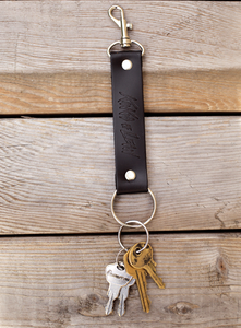 Kings of Leon Leather Keychain