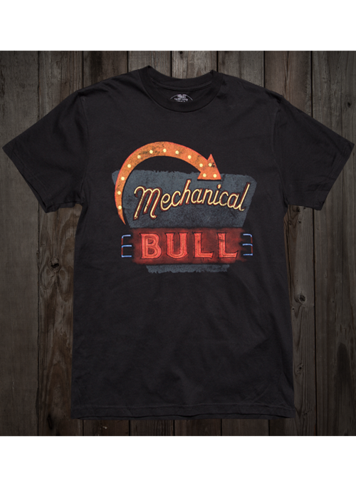 Black SS-2014 Mechanical Bull Spring Tour