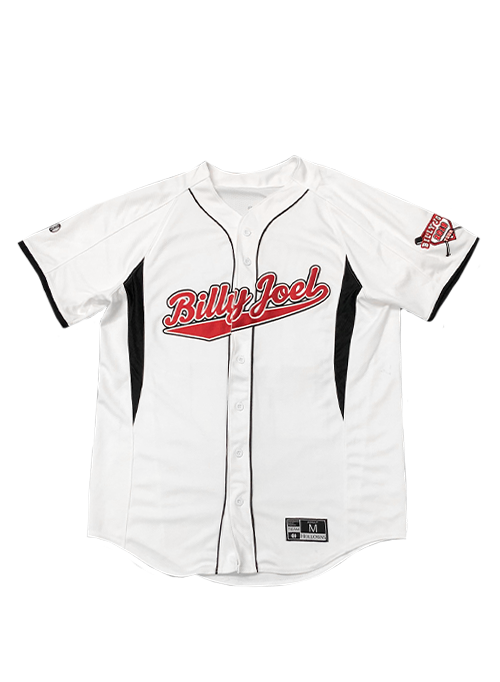 White/Black Baseball Jersey-2019 Stadium Tour