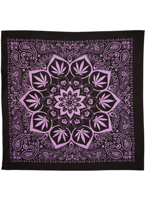 Bandana-Black/Rainbow Art-20