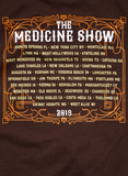 Chocolate Brown SS-2019 Medicine Show/Itinerary
