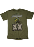 20th Anniversary Men's SS Military Green Tee