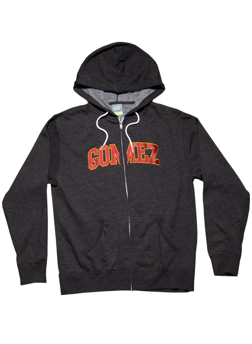Dark Grey Zip Hoodie-Unisex-University Logo