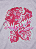 "Heather Grey Women's-""Werewolf is Coming"""
