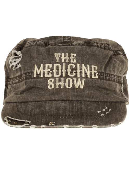 Brown Army Cap-The Medicine Show