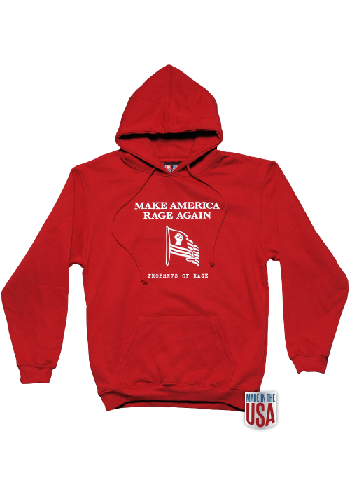 Red Hoodie-Make America Rage Again