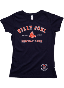 Navy Fenway Park MLB Event Women's Tee