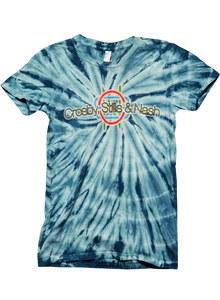 Green Women's Tie-Dye-2012 Tour/Itinerary