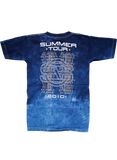Blue Tie-Dye SS-2010 Tour/Itinerary