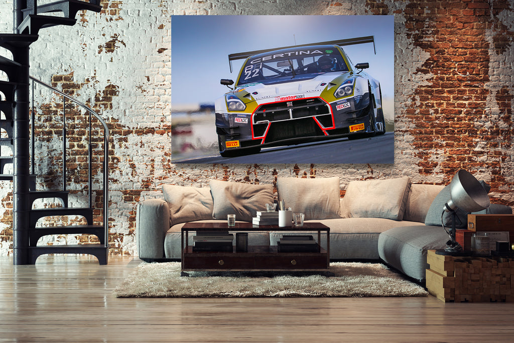 Nissan GT-R GT3 - MRS Racing I - titoprint.de