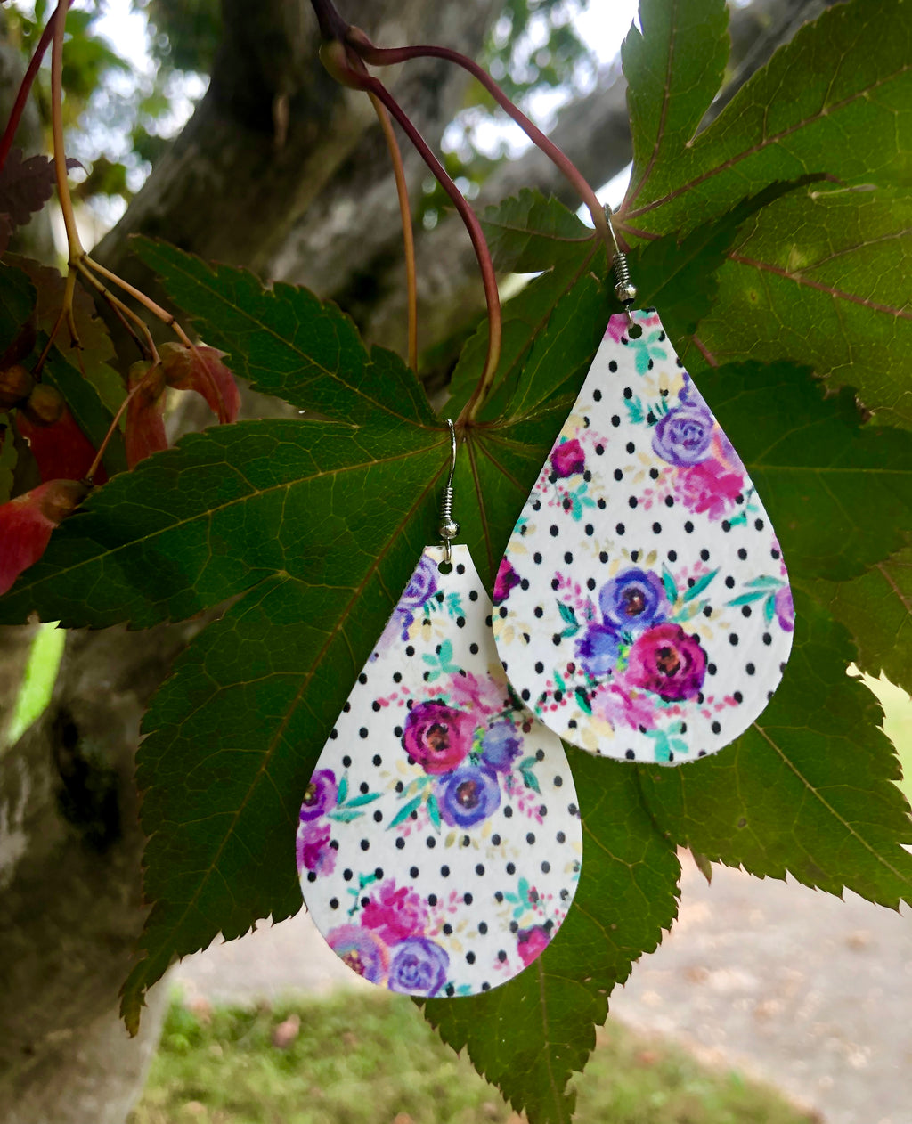 Sweet Ella Rose Earrings