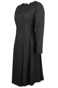 Black Cotton Corset Dress