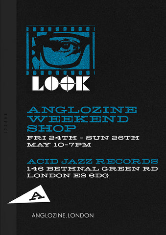 Anglozine Acid Jazz pop-up shop 2