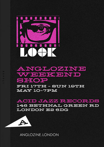 Anglozine Acid Jazz Pop up shop