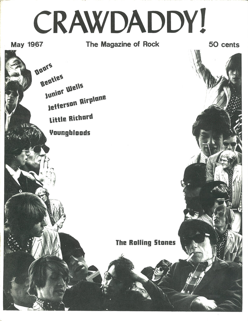Crawdaddy Magazine Anglozine May 1967