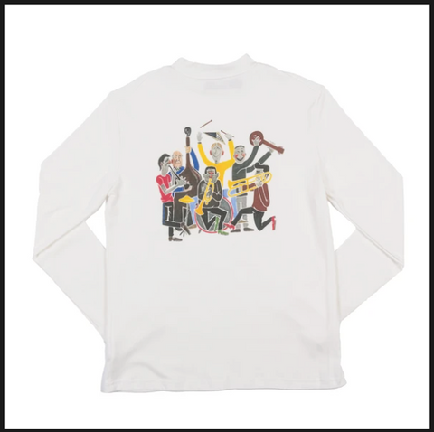 Anglozine Eel Pie Long sleeve tshirt