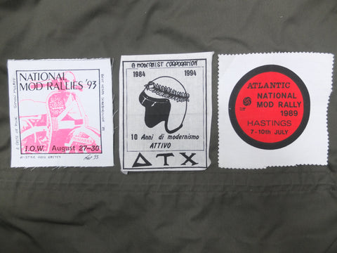 Hastings Mod Rally patch Anglozine