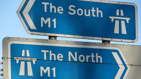 Anglozine M1 north south divide