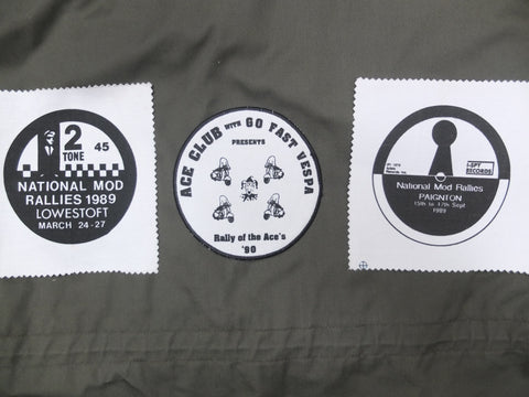 2 Tone Mod Rally patch Anglozine