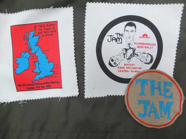 The Jam Mod Rally patch Anglozine