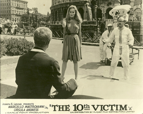 The 10th Victim film Anglozine
