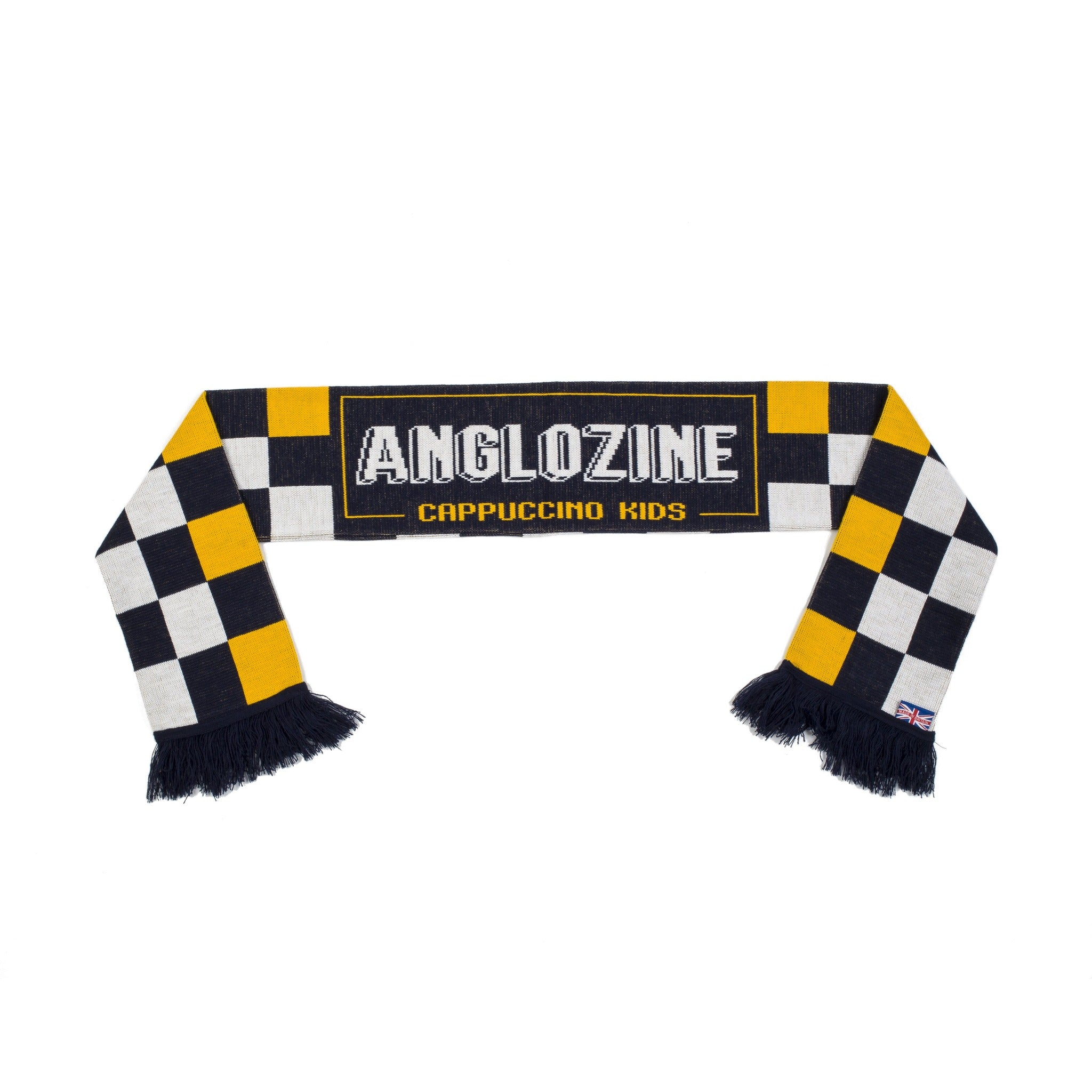 Cappuccino Kids football scarf - Anglozine