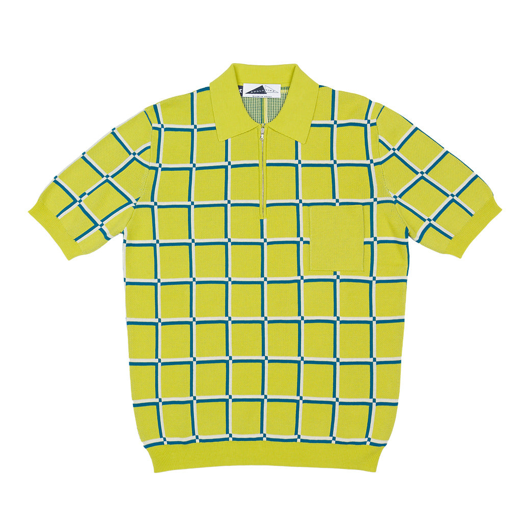 JUDD Polo check (Lime)