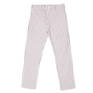 THE 026 Stripe jean (Red/Indigo)