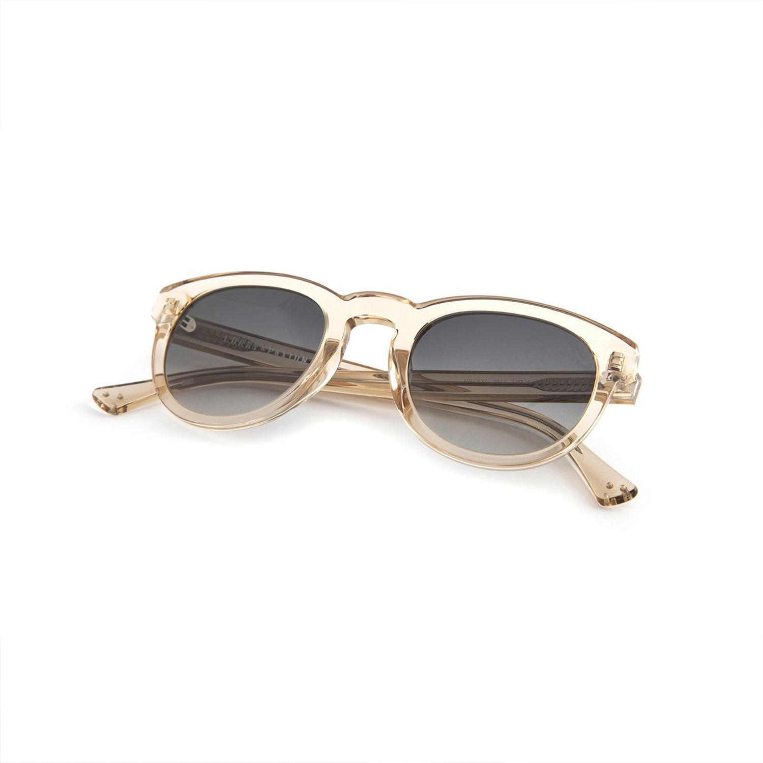 FREDDIE - CURRY & PAXTON SUNGLASSES (CHAMPAGNE/GREY)