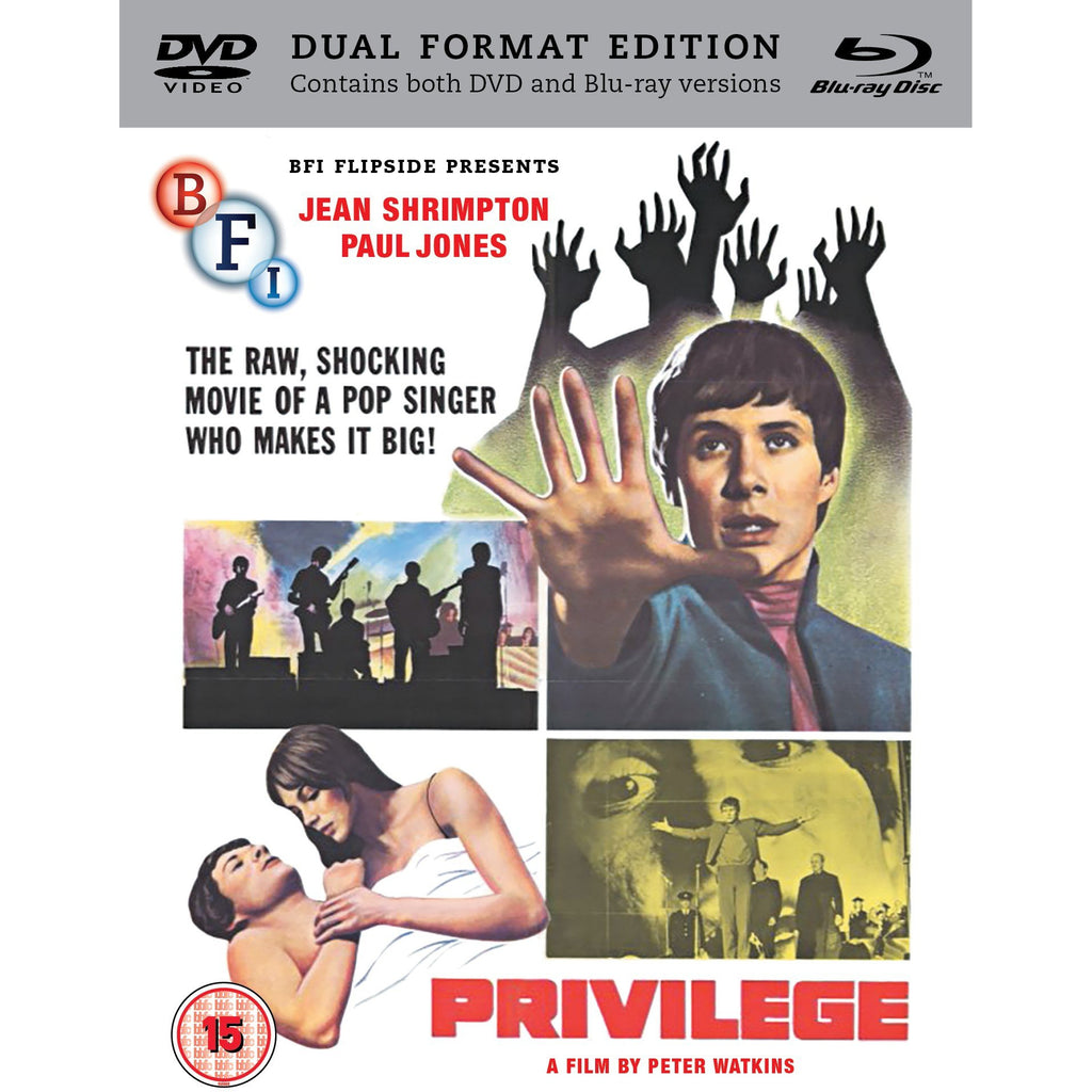 PRIVILEGE - BFI  DVD/Blue Ray - Anglozine
