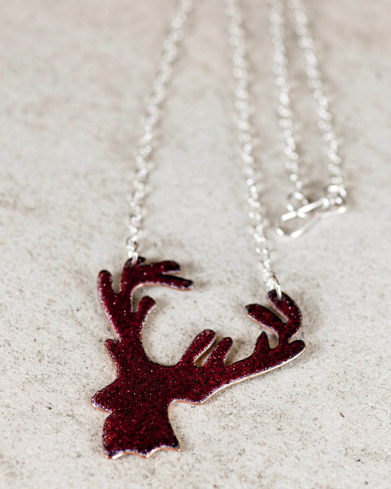 Reversible Stag Necklace