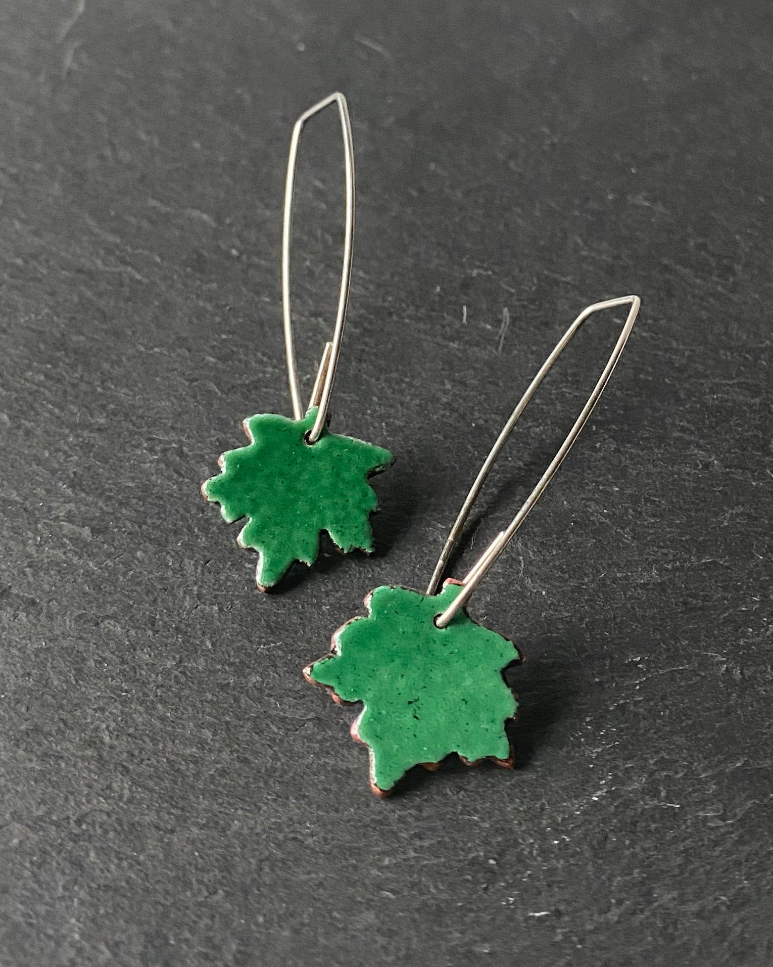 Sycamorwydden drop earrings
