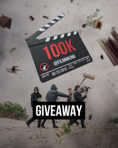FilmmKing Official Giveaway Sponsor