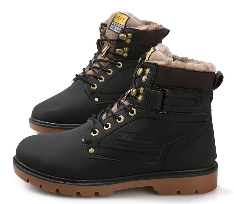 Winter Fur Casual Men Boots