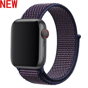 Nylon Sport Apple Watch Bands