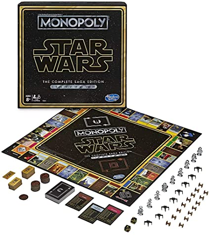 Monopoly: Star Wars The Complete Saga Edition