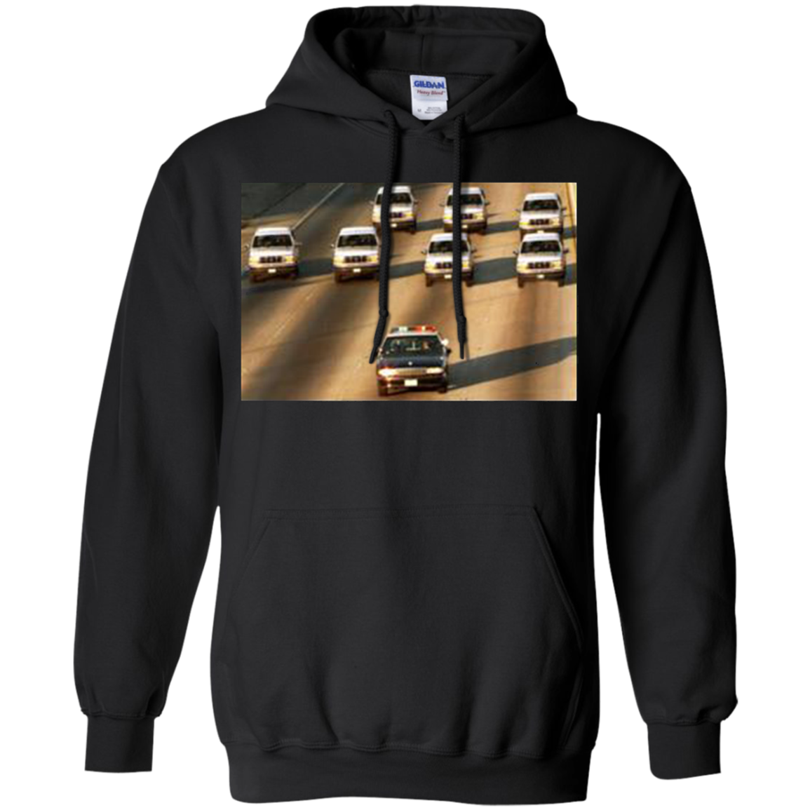 Zay Jones - Oj Simpson Car Chase Hoodie Shirt