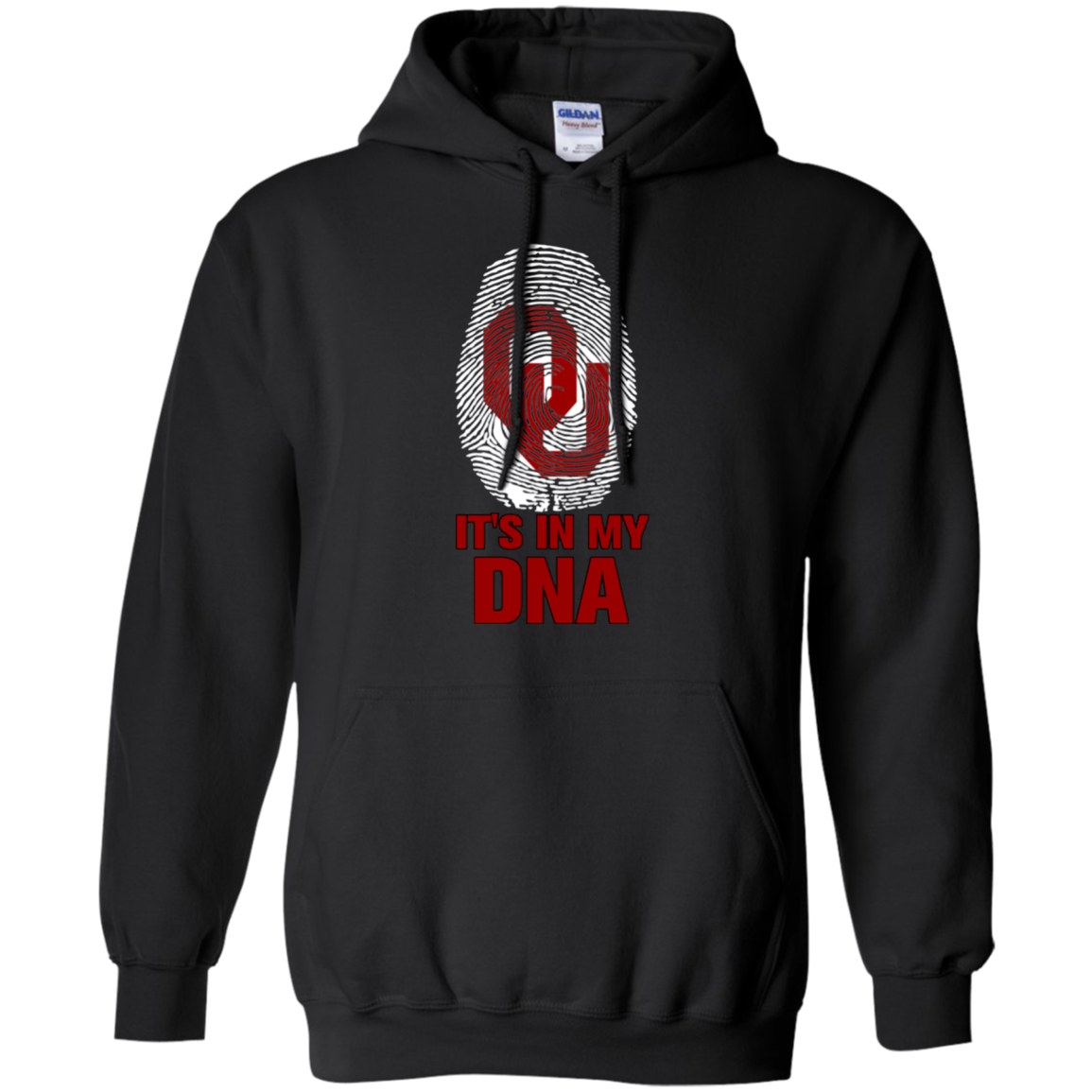 Oklahoma Sooners Football It Is In My Dna T Shirt