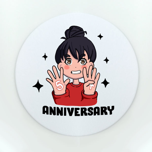 54th Anniversary Cup Coaster (Paper)