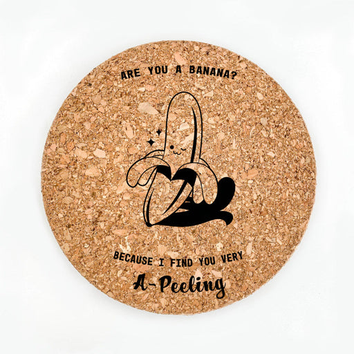 A-peeling Pot Coaster (Cork)