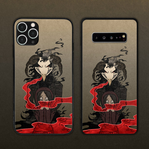 Accept The Corrupted Gas Into You Phone Case