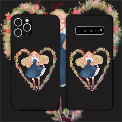 Alice Black by Funrin Phone Case