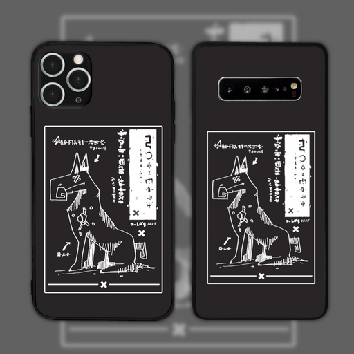 Anatomy Black by Octobyan Phone Case