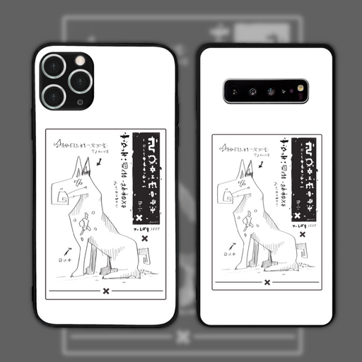 Anatomy White by Octobyan Phone Case